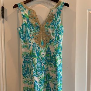 Lilly Pulitzer Janice dress in lighthouse print